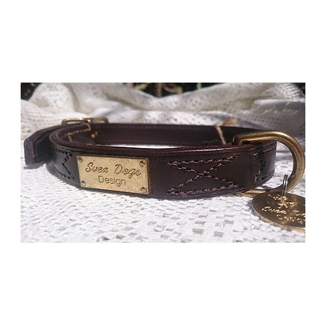Large Dog Collar Choklad